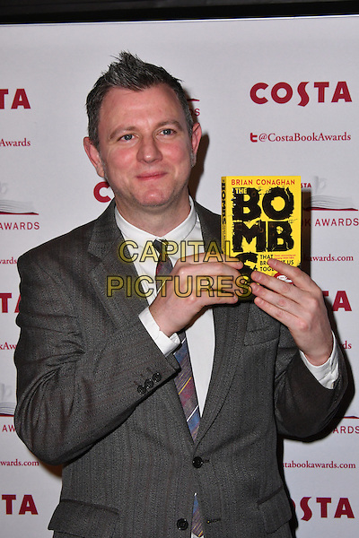 Brian Conaghan<br /> Costa Book Of The Year Award 2016, at Quaglino&rsquo;s, London, England on January 31, 2017.<br /> CAP/JOR<br /> &copy;JOR/Capital Pictures