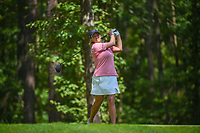 Cristie Kerr (USA) watches her tee shot on 2 during round 4 of the U.S. Women's Open Championship, Shoal Creek Country Club, at Birmingham, Alabama, USA. 6/3/2018.<br /> Picture: Golffile | Ken Murray<br /> <br /> All photo usage must carry mandatory copyright credit (&copy; Golffile | Ken Murray)