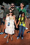 Director Kevin Smith and family arrive at the Disney-Pixar's WALL-E Premiere on June 21, 2008 at Greek Theatre in Los Angeles, California.
