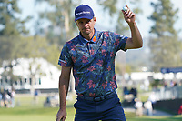 Justin Rose (ENG) In action during the final round of the The Genesis Invitational, Riviera Country Club, Pacific Palisades, Los Angeles, USA. 15/02/2020<br /> Picture: Golffile | Phil Inglis<br /> <br /> <br /> All photo usage must carry mandatory copyright credit (© Golffile | Phil Inglis)