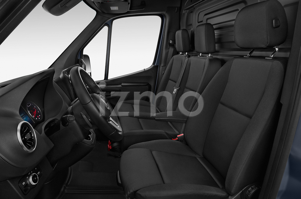 Front seat view of 2019 Mercedes Benz Sprinter-Fourgon - 4 Door Cargo Van Front Seat  car photos