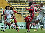 BOGOTÁ – COLOMBIA _ 10-11-2013 / En compromiso correspondiente a la última fecha del Torneo Clausura Colombiano 2013, Patriotas cayó como local 0 – 1 ante Once Caldas en el estadio metropolitano de Techo de Bogotá.