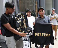 NEW YORK, NY-August 19:  Kanya West pop-up store with Pabio Gear open this weekend at Broadway and Walker Street in New York. August 19, 2016. Credit:RW/MediaPunch