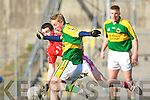 Welcome back. Kerry's mercurial corner forward Paddy Curran plays himself back into form much to the chagrin of Cork marker Eoin Cotter.   Copyright Kerry's Eye 2008