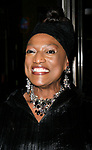 Jessye Norman arriving for the Roundabout Theatre Company's Opening Night Production  of  A MAN FOR ALL SEASONS at the American Airlines Theatre in New York City.<br />October 7, 2008<br />© Walter McBride / Retna Ltd.
