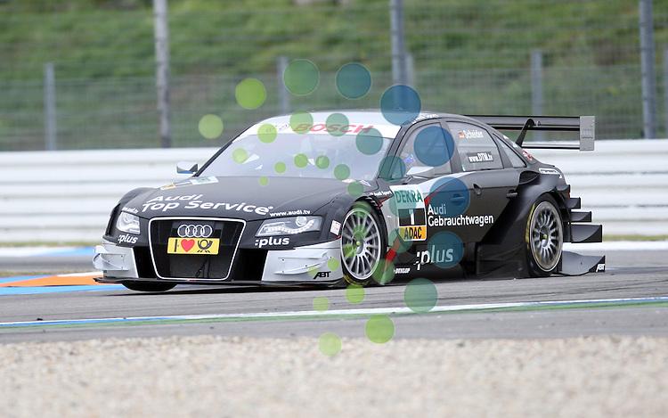 DTM 2010,09.Lauf Hockenheimring,15.-17.10.10.Timo Scheider (D#1) Audi Sport Team Abt..Picture: Hasan Bratic/Universal News Sport (Europe) 15 October 2010.