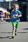 Cigna Kids Waterfront Fun Run at Frank Kitts Park, Wellington, New Zealand on Tuesday 16  December 2014. <br /> Photo by Masanori Udagawa. <br /> www.photowellington.photoshelter.com.