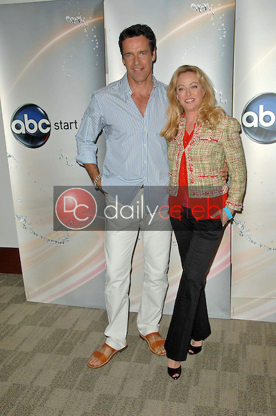 David James Elliott and Virginia Madsen<br />