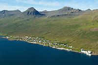 Fáskrúðsfjörður séð til norðurs, Fjarðabyggð / Faskrudsfjordur viewing north, Fjardabyggd.