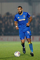 Liam Trotter of AFC Wimbledon during the Sky Bet League 1 match between AFC Wimbledon and Charlton Athletic at the Cherry Red Records Stadium, Kingston, England on 10 April 2018. Photo by Carlton Myrie / PRiME Media Images.