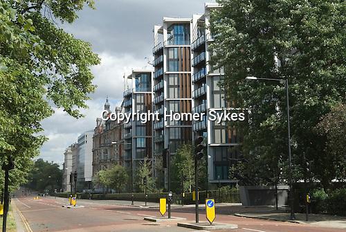 One Hyde Park Knightsbridge London. UK Over looking Hyde Park London.