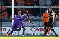Blair Turgott of Maidstone United celebrates scoring the first goal during Barnet vs Maidstone United , Vanarama National League Football at the Hive Stadium on 3rd November 2018