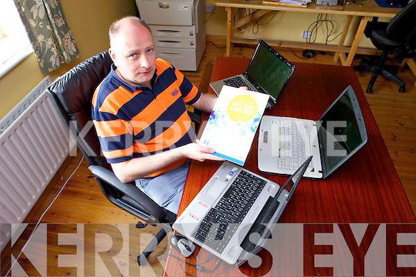 Computer classes will be run in Duagh Family Resource Centre starting from September 29th. Pictured was Joe Lynch.