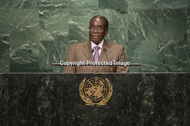 Address by His Excellency Robert Mugabe, President of the Republic of Zimbabwe <br /> <br /> <br /> General Assembly Seventy-first session 10th plenary meeting<br /> General Debate