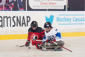 London, ON - Dec 2 2018 - 2018 Canadian Tire Para Hockey Cup at the Western Fair Sports Centre in London, Ontario, Canada (Photo: Matthew Murnaghan/Hockey Canada Images)