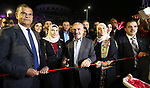 """Palestinian Prime Minister Mohammed Ishtayeh attends the opening ceremony of """"Acacia Mall""""n, in the West Bank city of Ramallah, on May 31, 2019. Photo by Prime Minister Office"""