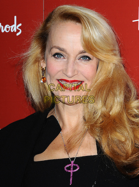 Monday, December 27, 2010<br /> Jerry Hall  open the Harrods Sale, London, England.<br /> CAP/CK<br /> &copy;CK/Capital Pictures