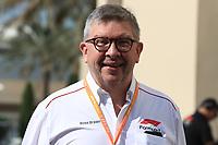 29th November 2019; Yas Marina Circuit, Abu Dhabi, United Arab Emirates; Formula 1 Abu Dhabi Grand Prix, practice day; Ross Brawn, Managing Director of Formula 1 for Liberty Media - Editorial Use