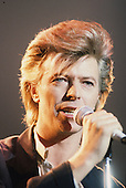 Mar 21, 1987: DAVID BOWIE - La Locomotive Paris France