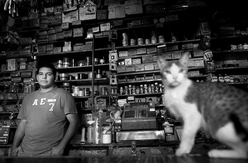 Antonio Guerrero Stepanenko. Hardware store owners in El Dorado, Sinaloa,  Mexico
