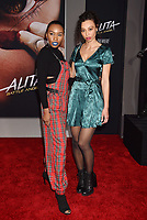 WESTWOOD, CA - FEBRUARY 05: Carrie Bernans (L) and Heidi Lewandowski attend the Premiere Of 20th Century Fox's 'Alita: Battle Angel' at Westwood Regency Theater on February 05, 2019 in Los Angeles, California.<br /> CAP/ROT/TM<br /> ©TM/ROT/Capital Pictures