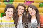 Danielle O'Sullivan Milltown, Kaelim Fox Glenbeigh and Aoife Johnson Killorglin at the Milltown family funday on Sunday..