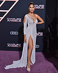 "Kara Del Toro 055 attends the premiere of Columbia Pictures' ""Charlie's Angels"" at Westwood Regency Theater on November 11, 2019 in Los Angeles, California."