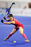 Hazuki Nagai (JPN), <br /> AUGUST 31, 2018 - Hockey : <br /> Women's Final match <br /> between Japan 2-1 India  <br /> at Gelora Bung Karno Hockey Field <br /> during the 2018 Jakarta Palembang Asian Games <br /> in Jakarta, Indonesia. <br /> (Photo by Naoki Morita/AFLO SPORT)