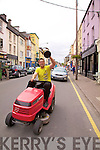 A triumphant Cian O'Connor(Man of the Match) takes to the streets of Cahersiveen on Saturday last showing off the U21 Acorn Life U21 Football Championship Cup which South Kerry won in Austin Stack Park on Thursday last with their victory over West Kerry 1-13 to 2-8.