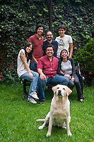 The López Vergara Anaya family and friends, Mexico City.