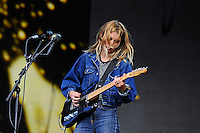 LONDON, ENGLAND - JULY 8: Ellie Rowsell of 'Wolf Alice' performing at British Summertime, Hyde Park on July 8, 2016 in London, England.<br /> CAP/MAR<br /> &copy;MAR/Capital Pictures /MediaPunch ***NORTH AND SOUTH AMERICAS ONLY***