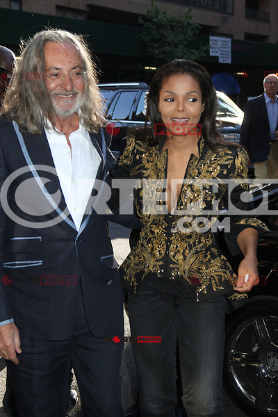 May 10, 2012: Janet Jackson with Marco Glaviano, attends the Famed Photographer Marco Glaviano Supermodels presentation at Keszler Gallery in New York City. Credit: RW/MediaPunch Inc.