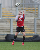 Thursday 12th April 2018 | Ulster Rugby Captain's Run<br /> <br /> Darren Cave during Captain's Run held at Kingspan Stadium, Ravenhill Park, Belfast, Northern Ireland. Photo by John Dickson / DICKSONDIGITAL