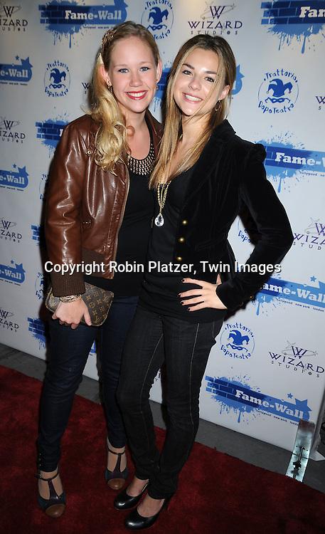 Caitlin VanZandt and Bonnie Dennison