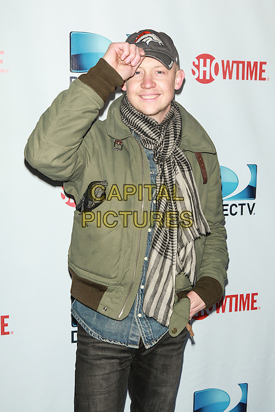 NEW YORK, NY - FEBRUARY 1: Isaac Slade attends the DirecTV Beach Bowl at Pier 40 on February 1, 2014 in New York City. <br /> CAP/MPI/COR<br /> &copy;Corredor99/ MediaPunch/Capital Pictures