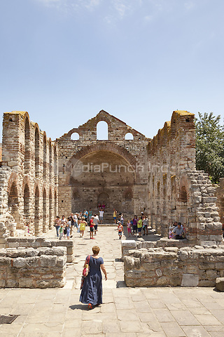 Hagia Sophia Basilica, also known as St Sophia Church and The Old Bishopric, Nessebar, Bulgaria  June 2015.<br /> CAP/MEL<br /> &copy;MEL/Capital Pictures /MediaPunch ***NORTH AND SOUTH AMERICA ONLY***