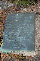 Lew Dodd Grave Site and Plaque, Yellow Island, San Juan Islands, Washington, US