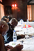 Participants of the IBJ Bulawayo Workshop fill out a pre-workshop survey at the Cresta Churchill Hotel in Bulawayo on May 19.