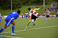 Action from the 2017 National Hockey League Men's final between Auckland and North Harbour at National Hockey Stadium in Wellington, New Zealand on Sunday, 24 September 2017. Photo: Dave Lintott / lintottphoto.co.nz
