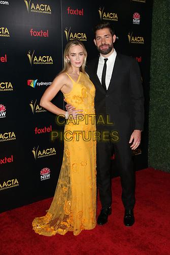 4 January 2019 - West Hollywood, California - Emily Blunt, John Krasinski. the 8th AACTA International Awards held at Skybar at Mondrian.        <br /> CAP/ADM/FS<br /> ©FS/ADM/Capital Pictures