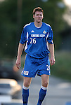 """24 August 2004: Taylor """"Big Tiny"""" Graham before the game. The Kansas City Wizards defeated the San Jose Earthquakes 1-0 at Blue Valley District Athletic Complex in Overland Park, KS in a semifinal game in the 2004 Lamar Hunt U.S. Open Cup.."""