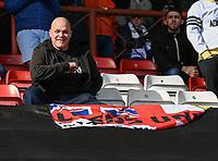 Leeds United fan<br /> <br /> Photographer David Horton/CameraSport<br /> <br /> The EFL Sky Bet Championship - Bristol City v Leeds United - Saturday 9th March 2019 - Ashton Gate Stadium - Bristol<br /> <br /> World Copyright © 2019 CameraSport. All rights reserved. 43 Linden Ave. Countesthorpe. Leicester. England. LE8 5PG - Tel: +44 (0) 116 277 4147 - admin@camerasport.com - www.camerasport.com