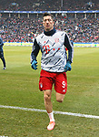 19.01.2020, OLympiastadion, Berlin, GER, DFL, 1.FBL, Hertha BSC VS. Bayern Muenchen, <br /> DFL  regulations prohibit any use of photographs as image sequences and/or quasi-video<br /> im Bild Robert Lewandowski (FC Bayern Muenchen #9)<br /> <br />       <br /> Foto © nordphoto / Engler