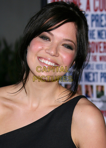 "MANDY MOORE.""American Dreamz"" Premiere - Arrivals held at the Arclight Cinemas, Hollywood, California, USA, .11th April 2006..portrait headshot one shoulder black dress.Ref: ADM/ZL.www.capitalpictures.com.sales@capitalpictures.com.©Zach Lipp/AdMedia/Capital Pictures."