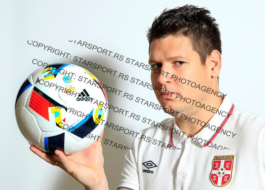 Futsal<br /> Portreti igraca Futsal nacionalne selekcije Srbije <br /> Aleksa Antonic <br /> Stara Pazova, 26.11.2015.<br /> foto: Srdjan Stevanovic/Starsportphoto &copy;
