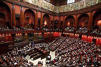 ROMA SEDUTA DI INSEDIAMENTO ALLA CAMERA DEI DEPUTATI DEL PARLAMEENTO ITALIANO.NELLA FOTO.FOTO CIRO DE LUCA