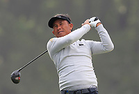 Thongchai Jaidee (THA) on the 14th tee during Round 1 of the UBS Hong Kong Open, at Hong Kong golf club, Fanling, Hong Kong. 23/11/2017<br /> Picture: Golffile | Thos Caffrey<br /> <br /> <br /> All photo usage must carry mandatory copyright credit     (&copy; Golffile | Thos Caffrey)