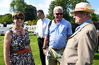 Connections of Nyaleti with Andrew Balding (r) during Father's Day Racing at Salisbury Racecourse on 18th June 2017