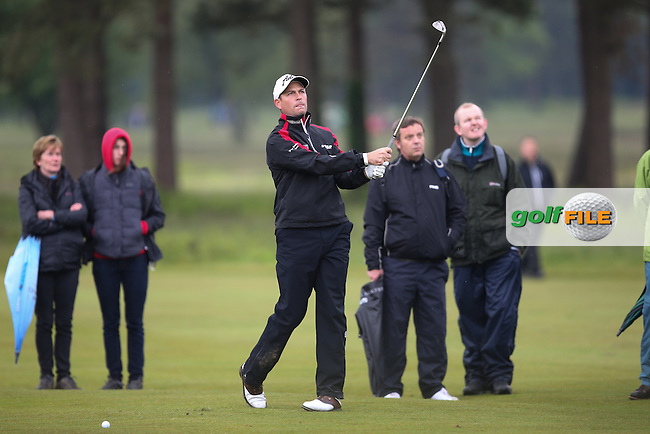 David Howell (ENG) finished T76 with rounds of 72 and 80 during the USGA US Open Championship International Sectional Qualifier from Walton Heath Golf Club, Surrey, UK. Picture:  David Lloyd / www.golffile.ie
