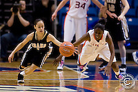 Boise St Basketball W 2009-10 v Idaho